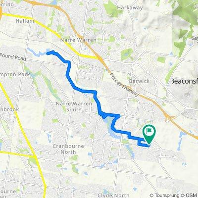 6 Barak Avenue, Berwick to 6 Barak Avenue, Berwick