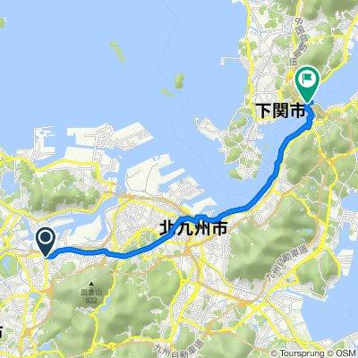 4-19, Kurosaki 5-Chōme, Yahatanishi, Kitakyushu to 3492-2, Moji, Moji, Kitakyushu