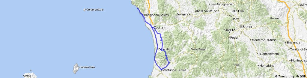 castiglioncello-suvereto CLONED FROM ROUTE 413893