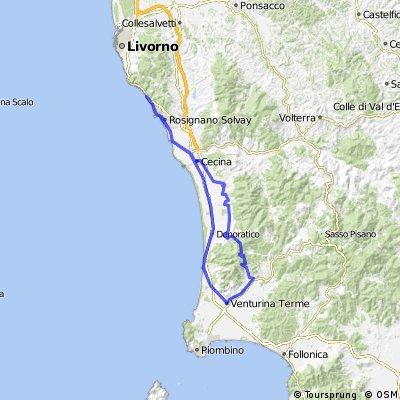 castiglioncello-suvereto CLONED FROM ROUTE 413893