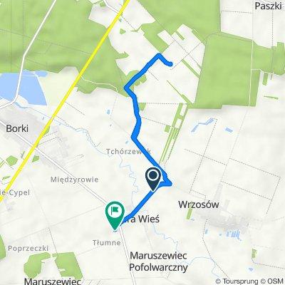 Trasa do Stara Wieś 38, Stara Wieś