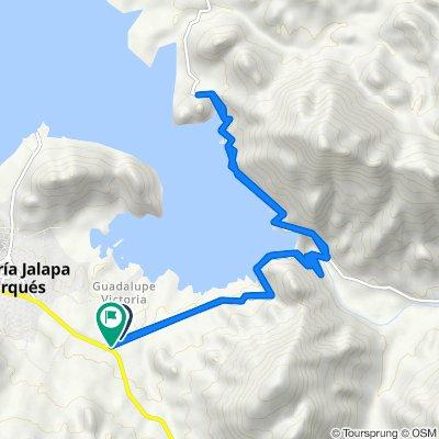 Steady ride in Santa María Jalapa del Marqués