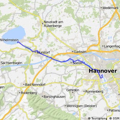RegionsRoute 6 - Hannover - Steinhude