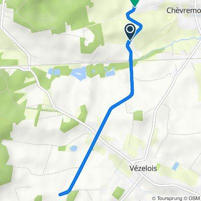De Rue du Stratégique, Chèvremont à 15 Route du Stratégique, Chèvremont