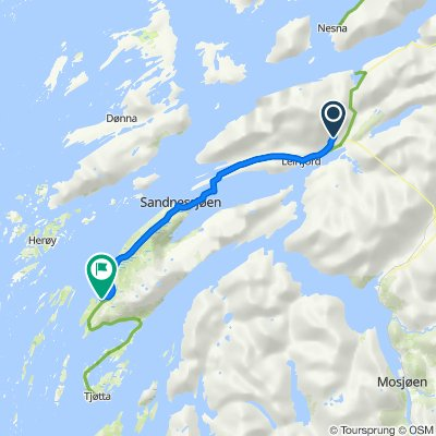 Route to Ole A. Jenssensvei 1