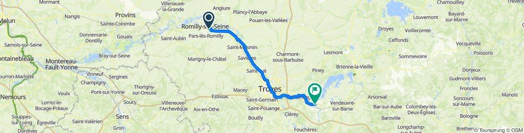 De 63 Rue Mattéoti, Romilly-sur-Seine à 166A La Tuilerie, Montiéramey