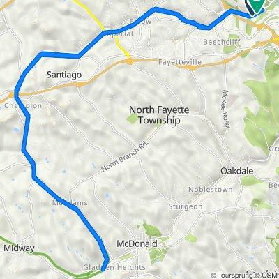 Montour Hiking Trail, Coraopolis to Montour Run Rd, Pittsburgh
