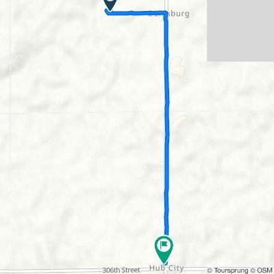 30437 University Rd, Centerville to 30595 University Rd, Vermillion