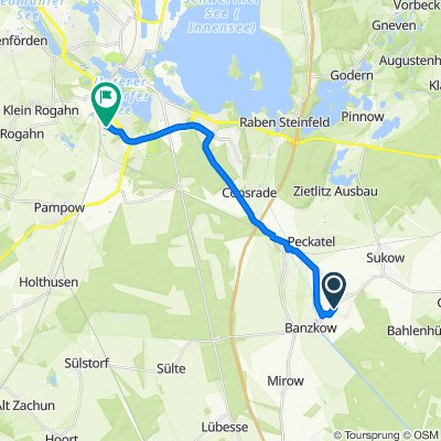 Am Neddelrad 10C, Banzkow nach Ellerried 68, Schwerin