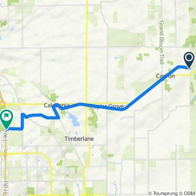 Long Prairie Trail Bike Path, Capron to 7800–7888 Harlem Rd, Loves Park