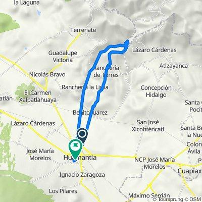 De Carretera a Benito Juárez, Huamantla a Matamoros Poniente 4, Huamantla