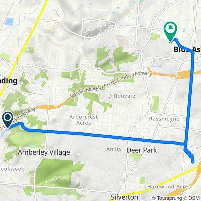 2288 E Galbraith Rd, Reading to 9675 Lansford Dr, Blue Ash