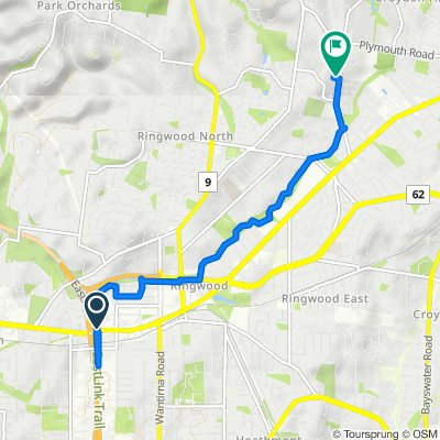 2–18A Burwood Avenue, Ringwood to 2 Woodchurch Close, Ringwood