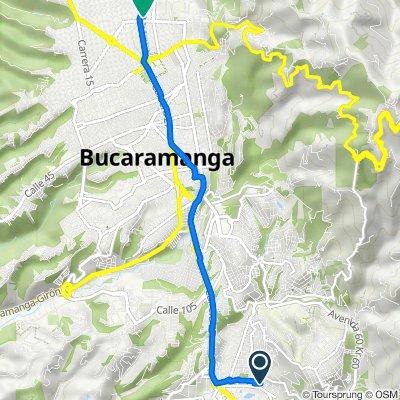 De Kr 8 Cl 27 Lagos III Retorno, Floridablanca a Carrera 28 1304, Bucaramanga