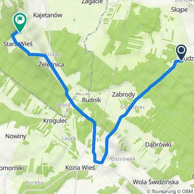 Budzisław 39, Budzisław do Stara Wieś, Przedbórz
