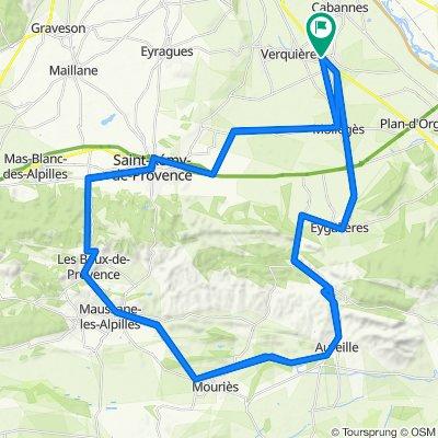 De 7–9 Lotissement Les Sarcelles, Saint-Andiol à 11 Lotissement Les Sarcelles, Saint-Andiol
