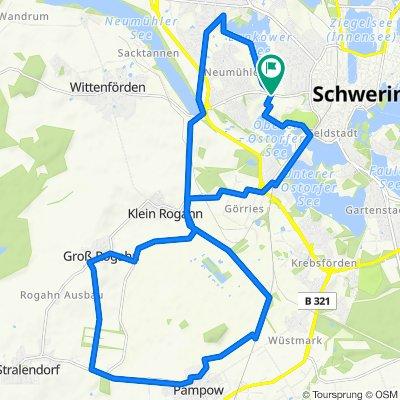 Schwerin-Rundtour: Die 8 vom Siebendörfer Moor mit Todtenweg 🚴🏼