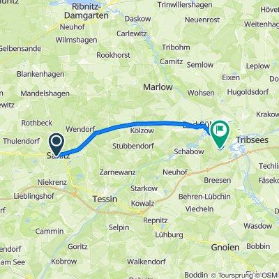 Am Bahnhof 6, Sanitz nach Tribseeser Chaussee 11–15, Bad Sülze