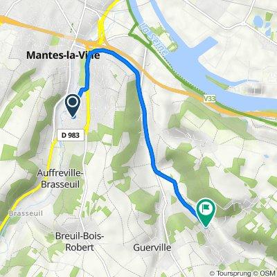 De 19 Rue de Chenonceaux, Mantes-la-Ville à 33 Rue Saint-Jean, Guerville