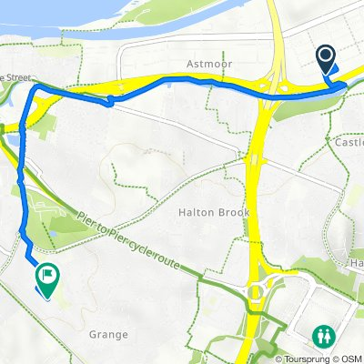 69-72 Brindley Road, Runcorn to 15 Laburnum Grove, Runcorn