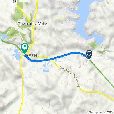 E4473–E4475 CTH-V, Reedsburg to Strutz Rd, La Valle