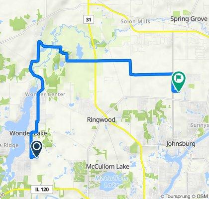 Parkwood Drive 7313, Wonder Lake to Hiller Ridge 2402, Johnsburg