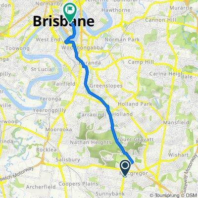 10 Cervantes Street, Macgregor to 169 Charlotte Street, Brisbane