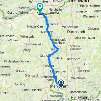 [DAY 32] Mannheim - Mainz