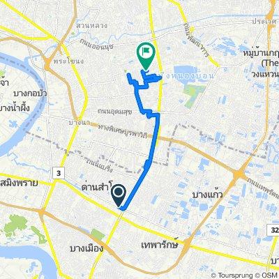 Sukhumvit 113, Tambon Sam Rong Nua to Soi Suphaphong 1 Yaek 10 7/129