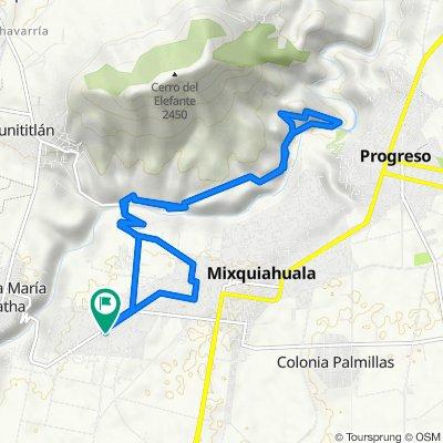De 20 de Noviembre 17, Mixquiahuala a 20 de Noviembre 17, Mixquiahuala