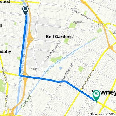 6134–6198 District Blvd, Bell to 8556 Firestone Blvd, Downey