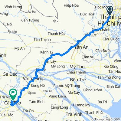 Car Transfer from Ho Chi Minh To Can Tho With Mui Ne Private Car