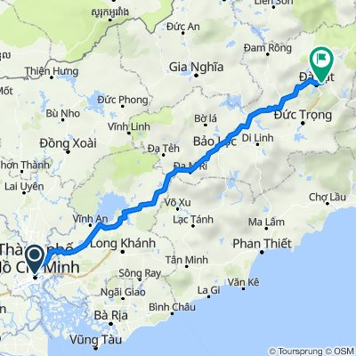 Tranfer from Ho Chi Minh to Dalat with Mui ne private Car