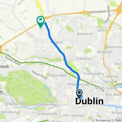 7 Henrietta Pl, Dublin 1 to 1 Northern Cross Business Park, North Road, Dublin 11