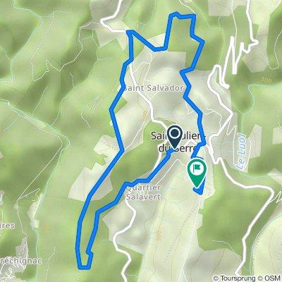 De 441 Route du Clap, Saint-Julien-du-Serre à 452 Route du Suel, Saint-Julien-du-Serre