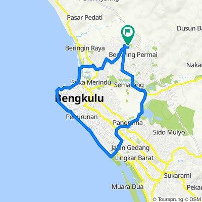 Jalan Unib Permai II B No.56, Kecamatan Muara Bangka Hulu to Jalan Unib Permai II B No.56, Kecamatan Muara Bangka Hulu