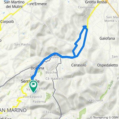 Da Via dei Dativi 78, Lesignano a Via Dativi 86, Lesignano