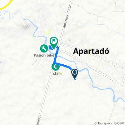 De Carrera 90 9476, Apartadó a Carrera 100 No. 99B-63, Apartadó