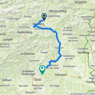 Mitterdorf-Schanzsattel-Birkfeld-Gschwend-Mariatrost
