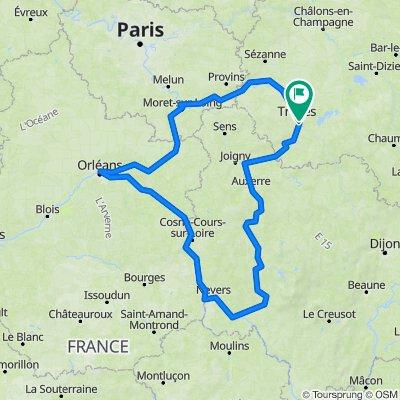 Tour de Loire en Bourgogne