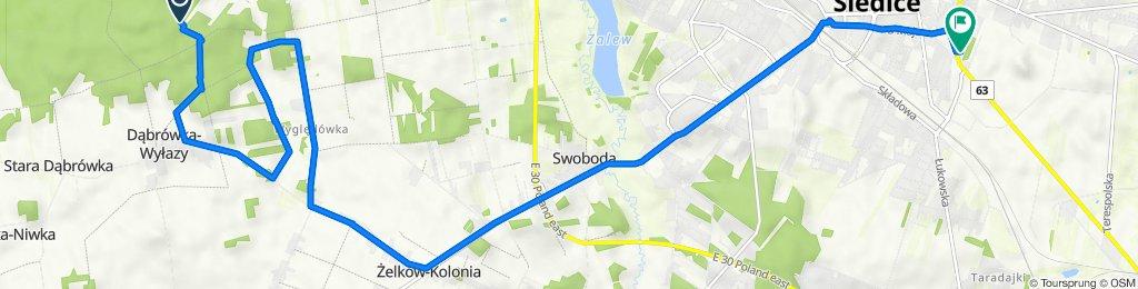 Leśna, Siedlce do Prymasa Stefana Wyszyńskiego 33, Siedlce
