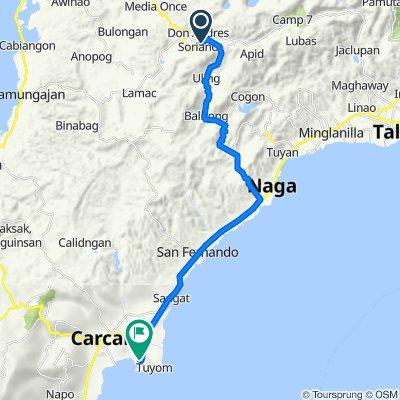 Naga - Uling Road, City of Naga to Unnamed Road, Carcar City