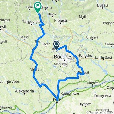 Fleche 2021 Buftea - Giurgiu - Videle - Valea Lunga