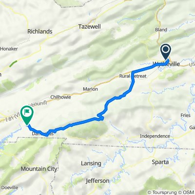 Day 11 - Wytheville to Damascus