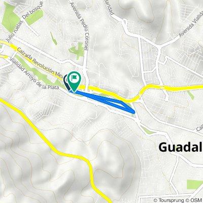 De Calle Sicómoro, Guadalupe a Calle Sicómoro, Guadalupe