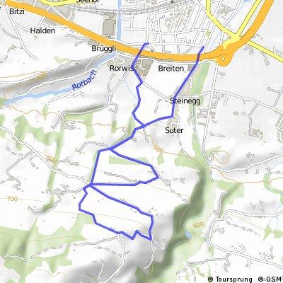Kurze bräggerhof trail