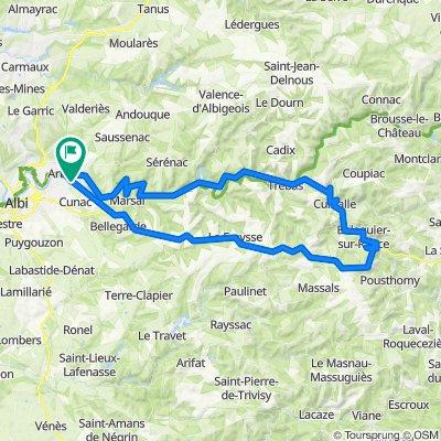Tour Saint-Juéry : Saint-Sernin sur Rance / Saint-Juéry