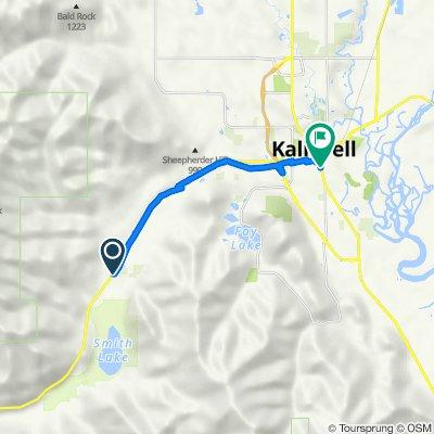 3600–3608 US Highway 2 W, Kalispell to 424 S Main St, Kalispell