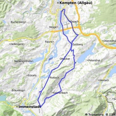 Rundtour von Kempten