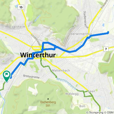 Klosterstrasse 59, Winterthur nach Klosterstrasse 59, Winterthur